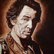 Bruce Springsteen Poster by Mark Baker