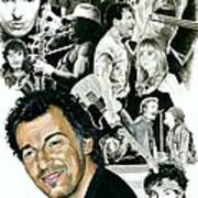Bruce Springsteen Through the Years Poster