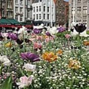 Brugge In Spring Poster