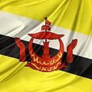 Brunei Flag Poster