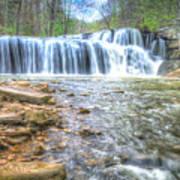 Brush Creek Falls Located In West Virginia Poster