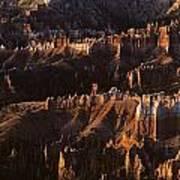 Bryce Canyon National Park Hoodo Monoliths Sunrise Southern Utah Poster