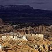 Bryce Canyon National Park Hoodo Monoliths Sunset Southern Utah  Poster