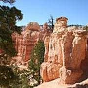 Bryce Canyon  Red Rocks Poster