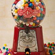 Bubble Gum Machine Poster