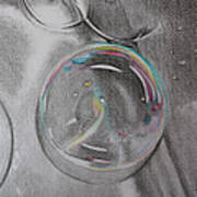 Bubbles In The Sink Poster