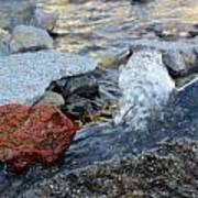 Bubbling Rocks Poster