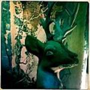 Buck A Deer Poster