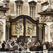 Buckingham Palace Gates Poster