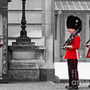 Buckingham Palace Guards Poster