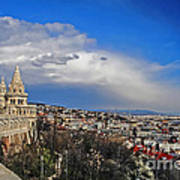Budapest And Fisherman's Bastion Poster