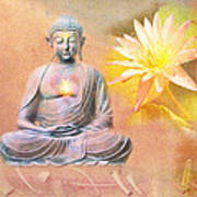 Buddha Of Compassion Poster