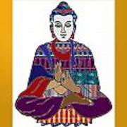 Buddha Spirit Humanity Buy Faa Print Products Or Down Load For Self Printing Navin Joshi Rights Mana Poster
