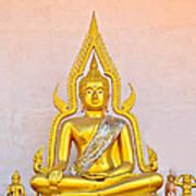 Buddha Statue Poster by Keerati Preechanugoon