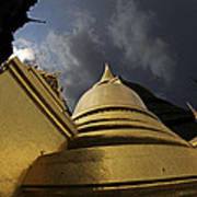 Buddhist Temple In Bangkok Thailand Buddhism  Poster