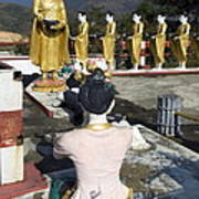 Buddist Shrine Poster