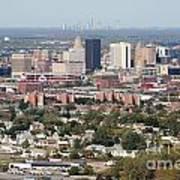 Buffalo And Niagara Falls Skylines Poster