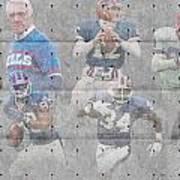 Buffalo Bills Legends Poster