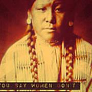 Buffalo Calf Road Woman Poster