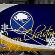 Buffalo Sabres Christmas Poster