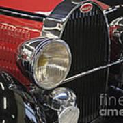 Bugatti Typ 57 Of 1935 Classic Car Poster