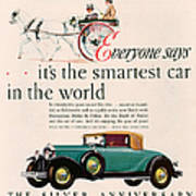 Buick 1928 1920s Usa Cc Cars Horses Poster by The Advertising Archives