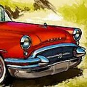 Buick Automobile Poster by Robert Smith