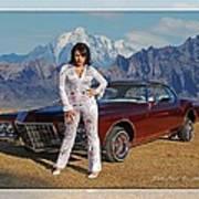 Buick Riviera Lowrider Poster