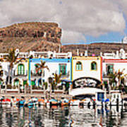 Buildings At The Waterfront, Puerto De Poster