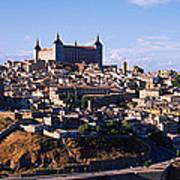 Buildings In A City, Toledo, Toledo Poster
