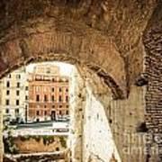 Buildings Of Rome V Poster