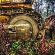 Bulldozer Retirement Poster