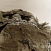 Bunker Above The Dak Poko River Near Dak To Kontum Province Vietnam 1968 Poster