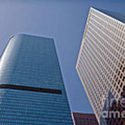 Bunker Hill Financial District California Plaza Poster