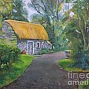 Bunratty Cottage Poster