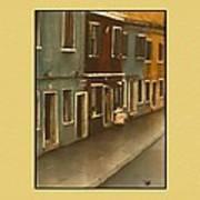 Burano Italy   No 20 Poster