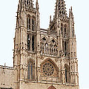 Burgos Cathedral Spain Poster