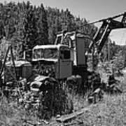 Burke Idaho Logging Truck 2 Poster