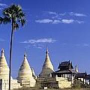 Burma Myanmar, White Minochanthar Poster