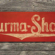 Burma-shave Sign Poster