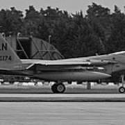 Burnin' F-15c Eagle  Poster