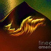 Burning Winds Across The Sahara  Poster