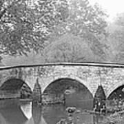 Burnside Bridge Antietam National Poster
