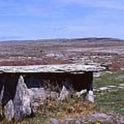 Burren Wedge Tomb Poster