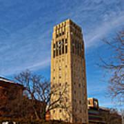 Burton Memorial Tower Poster