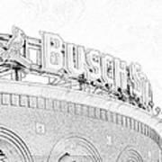 Busch Sta Line Poster