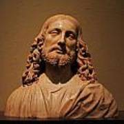 Bust Of Jesus Christ At Mfa Poster