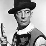 Buster Keaton, Columbia Portrait, Circa Poster