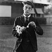 Buster Keaton Portrait Poster