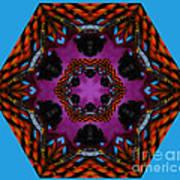 Busy  Bee Kaleidoscope Poster